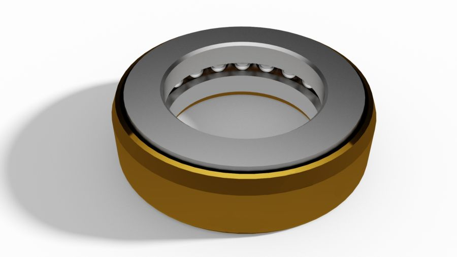 Singel direction thrust ball bearing (KT-bearing)