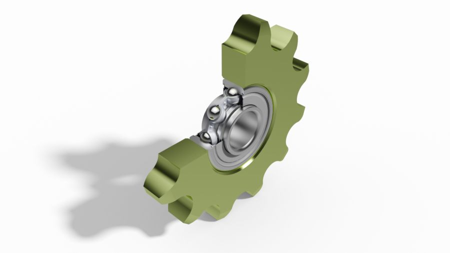 clamping sprocket