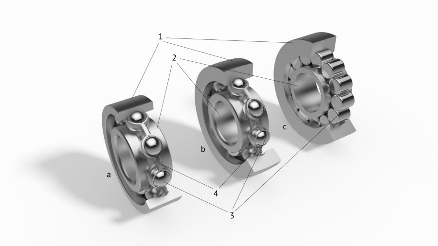 basic structure of bearings